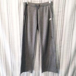 Nike Grey Cozy Straight Leg Sweatpants Size Large